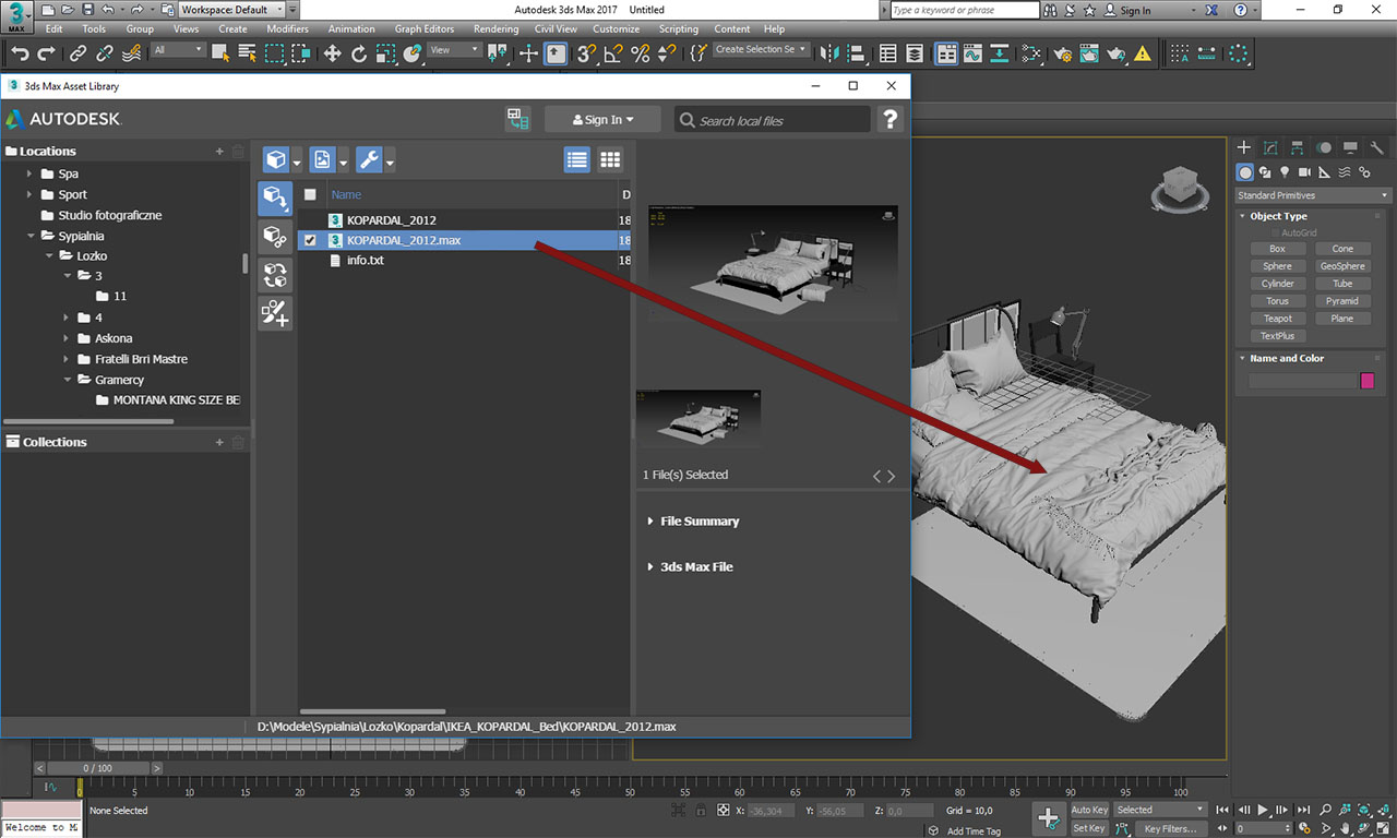 Light Vision Studio Tutorial Autodesk 3ds max Asset Library